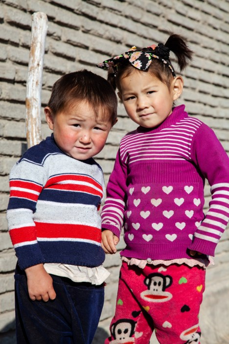 These naughty kazakh kids woke us up every morning with their lovely and loud laughter