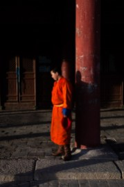 The young guide monk