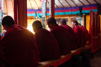 Cérémonie buddhiste