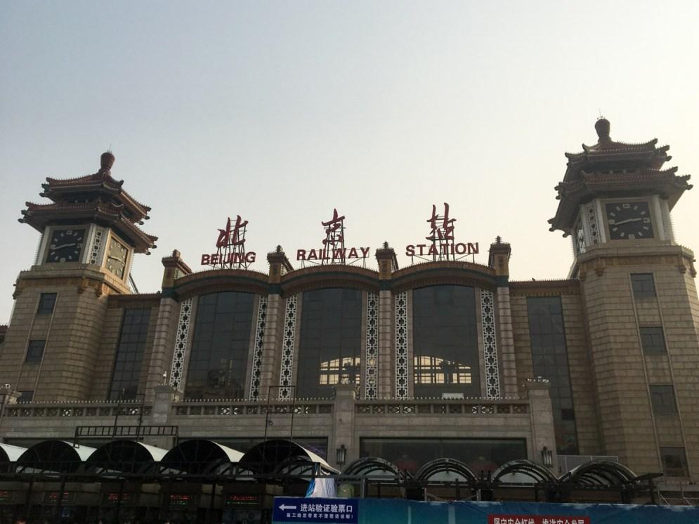 Estación de tren de Beijing