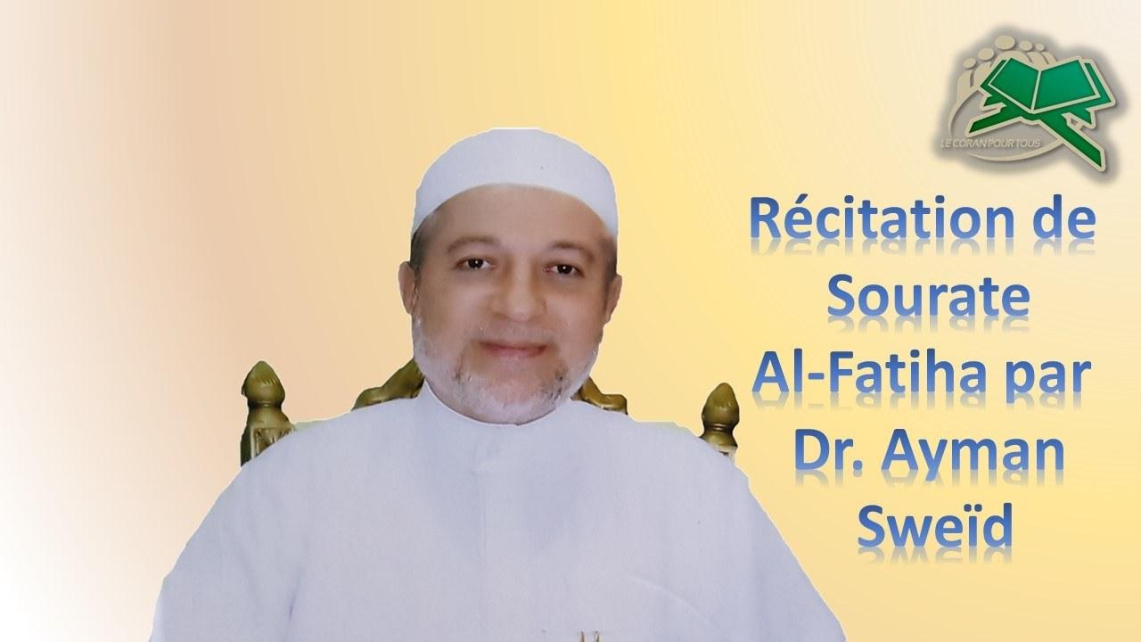 dr Ayman al fatiha Tajwid le Coran pour tous Formation Nourania en ligne
