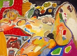art_contemporain_a_paris-peintures_modernes_contemporaines_xxi-21-artistes_espagnols-peintres-nu-natures_mortes-dessins _femmes_erotiques-merello.-l_amour_et_le_luxe