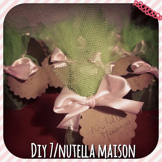 DIY Spécial Noël #7: Mon Nutella Maison Trop Bon