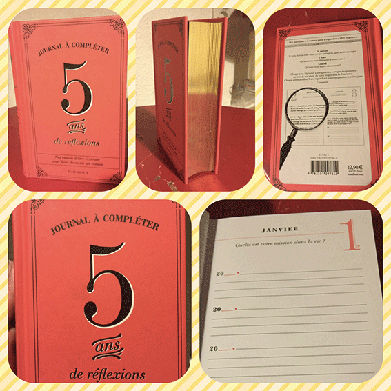 Présentation du livre 5 ans de réflexion