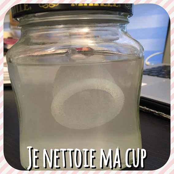 Comment je nettoie ma Cup