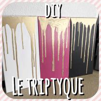 DIY pour apprendre à réaliser un triptyque d'art abstrait