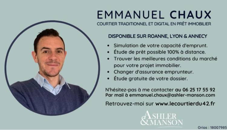 Courtier immobilier roanne