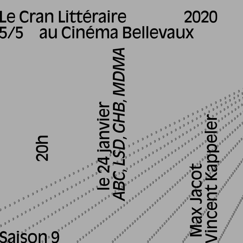 Soirée ABC, LSD, GHB, MDMA — Vendredi 24 janvier 2020, 20h