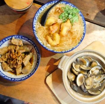 新竹市|享初食堂 東門市場內的麵線專賣居酒屋(菜單)