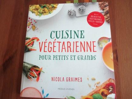 livres de cuisine pour enfants vege