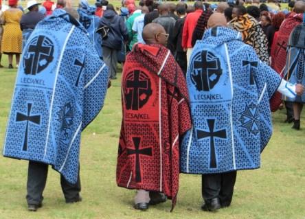 Basotho blankets designed especially for the LECSA