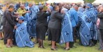 LECSA pastors offering prayers of healing