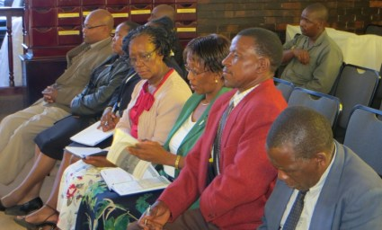 Members of the Thuthuho Celebrations Organizing Committee