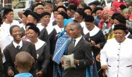 Matelile Presbytery worship service