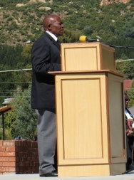 Mr. Thabo Ntai, Chairman of the celebrations Organizing Committee