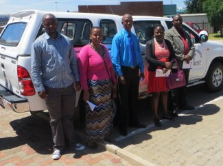 Mohlanapeng Health Centre Staff and Board Members