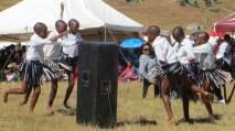 Primary school dance group