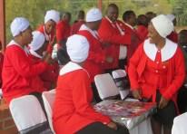 United Church of Zambia members in uniform