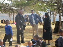 Mr. Senekal, Mr. Pitso and Mrs. Kotele
