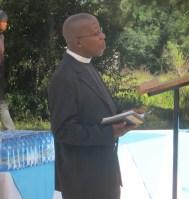 Rev. Teboho Motumi, LECSA HIV/AIDS Coordinator