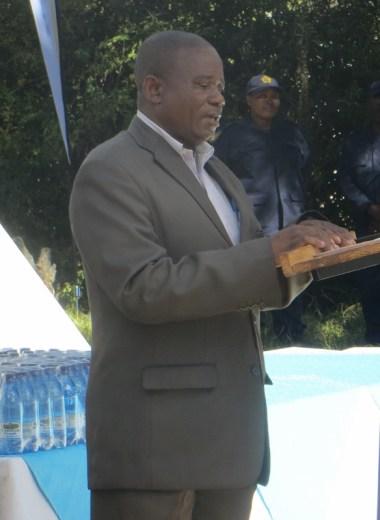 Scott Hospital Medical Superintendent Dr. Nestor Ngoie wa Banza