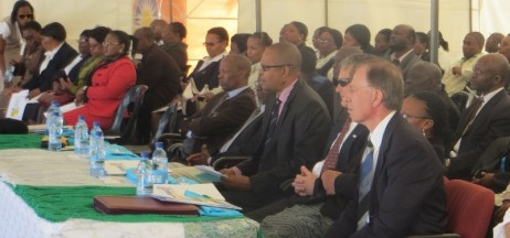 Dignitaries and other guests attending the launch