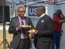 Dr. Monyamane and Rev. Posholi