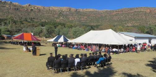 The setting for the 2015 MTS graduation ceremony