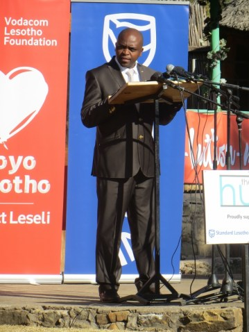 Standard Lesotho Bank Chief Executive Mpho Vumbukani