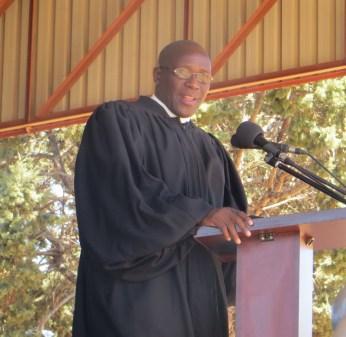 Rev. Nelson Khethang Posholi, LECSA Executive Secretary