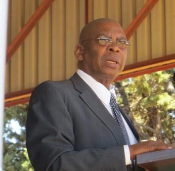 Advocate Joseph Teboho Moiloa Moiloa, LECSA Deputy Moderator