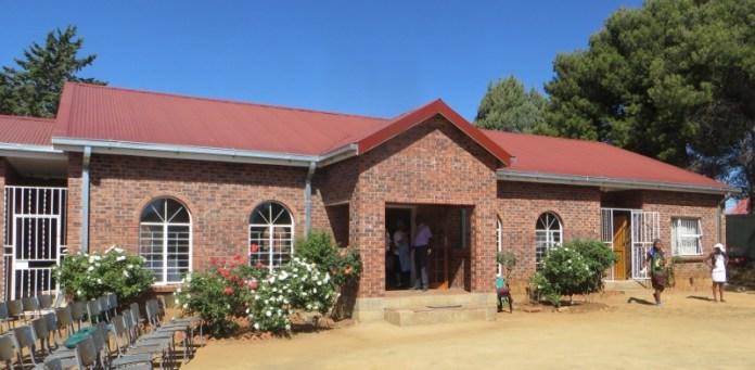 The LECSA John Calvin Chapel at the National University of Lesotho