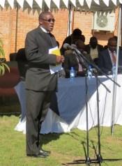LECSA Executive Secretary Rev. Nelson Khethang Posholi