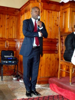 Rev. S. P. H. Nyambi, Moderator of the Evangelical Presbyterian Church in South Africa
