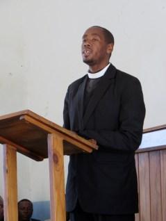 Rev. C. S. Letsie of Mohale's Hoek LECSA
