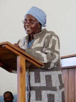 LECSA Women's Programme Coordinator Ms. Mampiti Moletsane