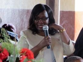 Member of Parliament for Hloahloeng Mrs. Ntlhoi Motsamai