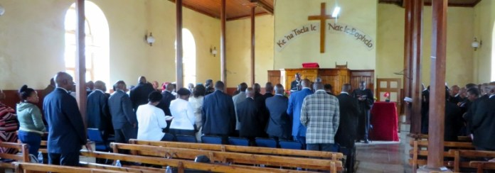 LECSA prayer service for Members of Parliament