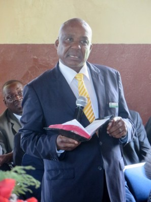 Member of Parliament for Mafeteng Mr. Temeki Tšolo