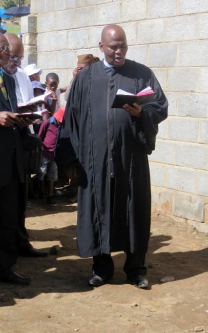 Rev. Tšeliso Masemene