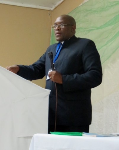 Rev. Nelson Khethang Posholi, LECSA Executive Secretary