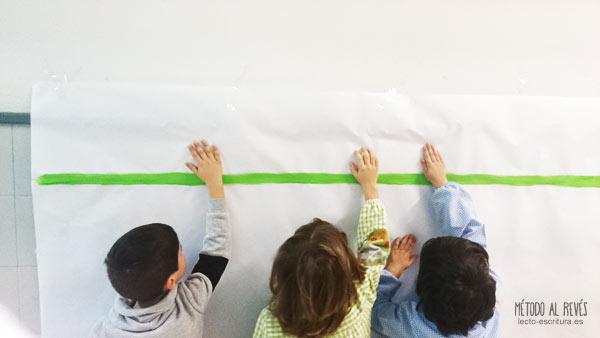 Actividades para trabajar la línea de escritura en Educación ...