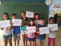 Diploma deportivo por ser 2º clasificados en el concurso de baile.