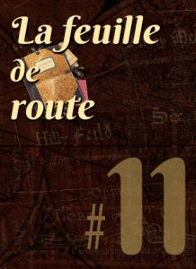 Feuille de route #11