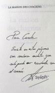 maison des chagrins - Dédicaces & rencontres d'auteurs