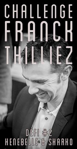 challenge thilliez henebelle sharko - Franck Thilliez