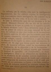 """Definición de Cultura, del texto """"Précision"""", de Julien BENDA, 1/2.."""