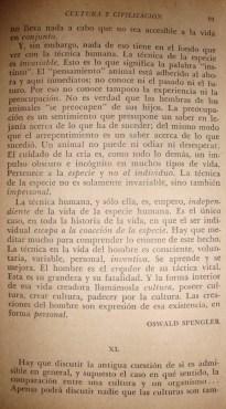 Texto de Oswald SPENGLER, 2/2.