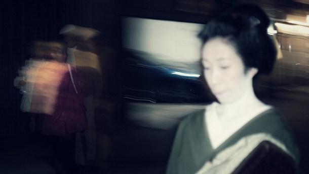 Geishas - Kioto - Barrio de Gion - Nacho Goberna © 2004