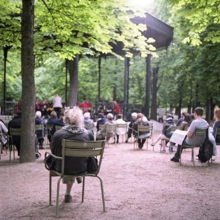 Los jardines de Luxembourg. Tomada por Matt Casagrande